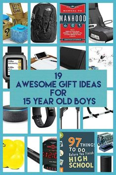 10 Awesome Gift Ideas for 15 Year Old Boys Board: Xmas Source by . 10 Awesome Gift Ideas for 15 Year Old Boys Cool Gifts For Teens, Gifts For Teen Boys, Birthday Gifts For Boys, Teen Birthday, 15th Birthday, Birthday Ideas, Birthday Cake, 15 Year Old Christmas Gifts, Teenage Boy Christmas Gifts