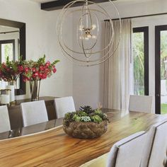 7 Pleasing Clever Tips: Dining Furniture Modern Chandeliers rustic dining furniture simple. Dining Room Design, Dining Room Chairs, Dining Room Furniture, Dining Table, Dining Rooms, Dining Room Lighting, Farmhouse Furniture, Wood Table, Outdoor Dining