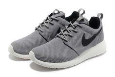 Mens : Nike Roshe Running - Yeezy Grey Black