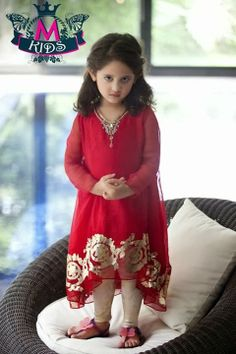 Kids latest party wear clothes designs 2014