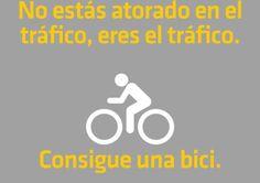 """""""El tráfico eres tú"""": el encanto de la bicicleta urbana"""