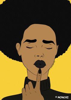 American african black women nude art