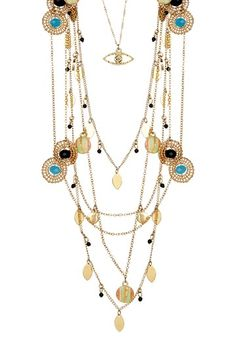 Frida Necklace Set by Fringe Benefits: Jewelry Shop on @HauteLook