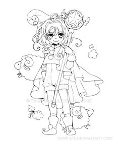 8 Best Printables Images Chibi Coloring Pages Coloring Books