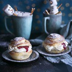 Pastry Cake, Desert Recipes, Mini Cupcakes, Deli, Food Inspiration, Cheesecake, Deserts, Baking, Finland