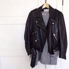 I need to find a leather jacket