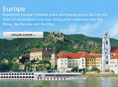Viking River Cruises is one of the top four favorite river cruise companies - always having specials, ask us the Viking Experts - they port at small villages and great places to just walk off the ship and right into town - no tendering at all, easy traveling!So what is stopping you??