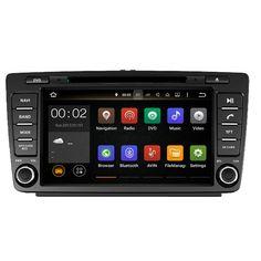 Runningnav Android 7.1 RAM 2G Fit SKODA OCTAVIA 2005 2006 2007 2008 2013 Car DVD Player Navigation GPS Radio #Affiliate