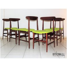 Sei sedie danesi anni '60 #arredamento #design #milano #sideboard #middlecentury #forniture #modernariato #forsale #living #home #sedie #vintage #art #lamps #livingroom #casa #visual #visualmerchandising #table #nolo #viapadova #poltrone #industrialchic #mirrow #allestimenti #vetrine #luxury #architects #chairs
