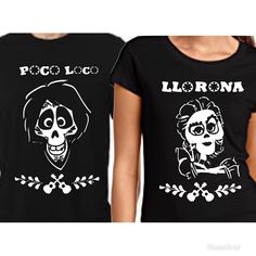 Pixar coco Hector mama Imelda T-shirt his and hers T-shirt's