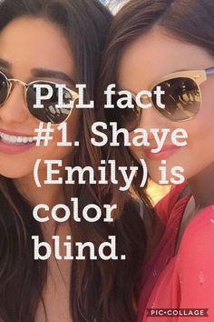 Pretty little liars Shaye Fact.