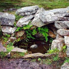 A 3000 year old well spring. Located at Drombeg, Co Cork, this Bronze Age well lay partially hidden until was once more revealed during an archaeological excavation in 1957. Possibly fed by a natural spring, it still retains fresh water after all these millennia