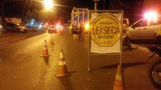 Operação Lei Seca prende quatro motoristas na Avenida Beira Rio +http://brml.co/1HVE2oB