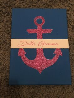 Delta Gamma CUSTOM Canvas choose house design/ by AEMCraftsDesigns