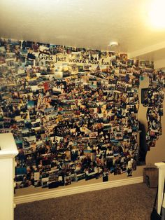 This is so cool! I'll probably end up doing this when I go to college to remember all the fun times with my family