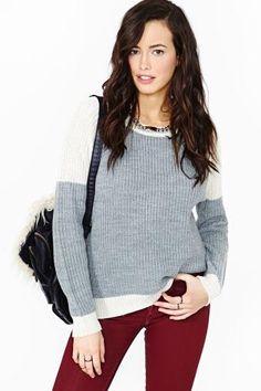 Warm Weekend Sweater