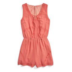 Stitch Fix Summer Styles: Coral Romper
