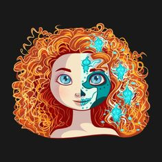 Awesome 'Sugar+Skull+Series%3A+Bearing+Princess' design on TeePublic!
