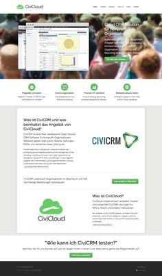 CiviCloud implementiert, erweitert, hosted und supported CiviCRM Lösungen für NPO's, NGO's und andere Institutionen.  #webagentur #webdesign #bern