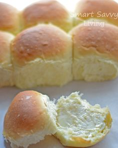 Homemade Yeast Rolls or Bread #recipe. Oh my goodness my mouth is watering already!