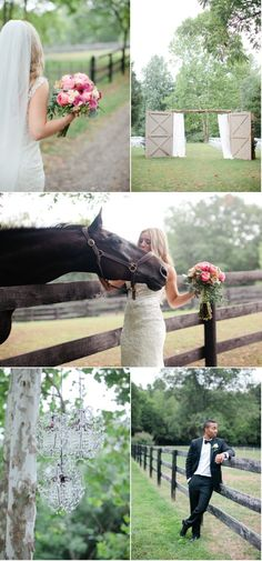 One day my horse will be a part of my wedding day...