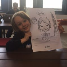 company party caricatures by NY Sketches