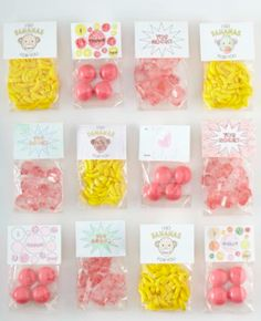 Candy topper printable