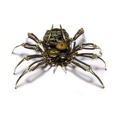 Steampunk Spider Sculpture  Featured in the by CatherinetteRings, $800.00