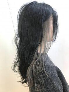 バレンタイン ベージュ インナーカラー☆KENYA:L027408424|ユーフォリア ハラジュク(Euphoria HARAJUKU)のヘアカタログ|ホットペッパービューティー Hidden Hair Color, Two Color Hair, Hair Color Streaks, Hair Color For Black Hair, Hair Highlights, Hair Inspo, Hair Inspiration, Hair Color Underneath, Blonde Underneath