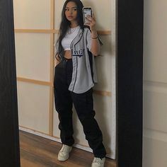 ☾ Best Picture For chill outfits adidas For Your Taste You are looking for something, and Cute Swag Outfits, Retro Outfits, Cute Casual Outfits, Chill Outfits, Club Outfits, Summer Tomboy Outfits, Bar Outfits, Vegas Outfits, Edgy Outfits