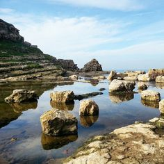 #desembocadura #rio #toñanes #river #cobreces #cantabriainfinita #cantabria #rocas #stones #paisajes #nature #naturaleza #maravilla #wonderful #españa #spain