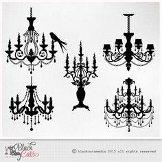Lámpara silueta barroca ornamental decorativo Clip Art EPS PNG y PSD archivos de instantánea descargar altamente detallados