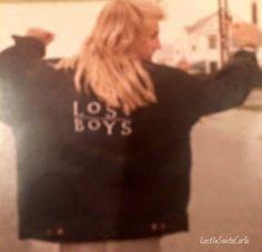 Brooke McCarter on set in Santa Cruz, sporting his Lost Boys jacket. Scary Movies, Great Movies, Horror Movies, Cult Movies, Lost Boys Movie, The Lost Boys 1987, Brooke Mccarter, Best Vampire Movies, Make A Cartoon