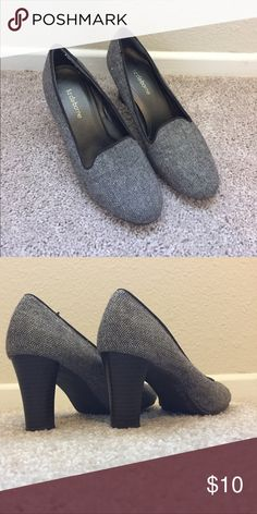 Liz Claiborne Tweed Pumps 👠 These super cute pumps have only been worn a couple of times. Great for work! Liz Claiborne Shoes Heels
