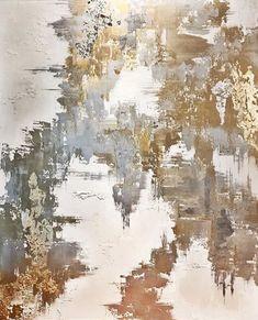Gorgeous Metallic abstract by Melissa McKean Montage Art, Abstract Art, Metallic, Artwork, Outdoor, Painting Abstract, Abstract, Outdoors, Work Of Art