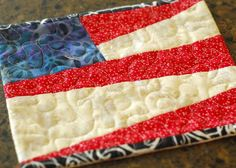 Simple hot pad idea for the 4th