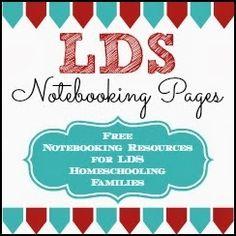 ldsnotebookingpages.blogspot.com  free homeschooling/church resources.  download via Teachers Pay Teachers.