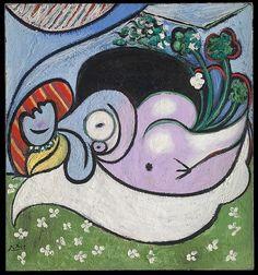 Pablo Picasso - The Dreamer, 1932.