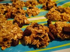 Applesauce oat cookies with no added sugar and no flour!