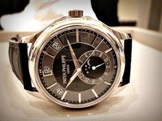 Patek Philippe watch; great everyday watch for that sleek business or business casual look!