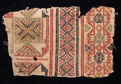 7296. EARLY ISLAMIC TEXTILE FRAGMENT. Egypt, c. 8th-12th century AD. The fabric…