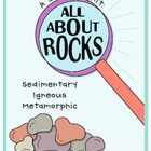 This is a 77 page unit that will teach your students about IGNEOUS, SEDIMENTARY, and METAMORPHIC rocks!     This Unit Includes:A Scientist Rock Noteb...