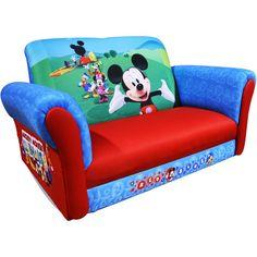 Disney Mickey Mouse Club House Toddler Rocking Sofa