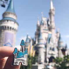 Disney I Disney Pin I Magic Kingdom I Disney Parks I Disney Store | Disney Accessories | magic Kingdom | Walt Disney World | Cinderella's Castle