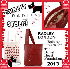 """""""Radley and The British Heart Foundation 2013"""" by radleycollector on Polyvore"""