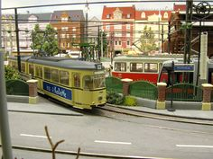 Mark's Modeltrambaan. Great tracking models and scenery.