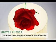 Букеты из конфет. Роза своими руками