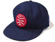 "FUCT x EBBETS FIELD ""Dealers"" Strapback Cap"