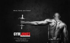 Promo Poster and Logo design for personal fitness training services.