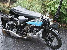 1929 Triumph 549cc Model NSD Gloria Sidecar